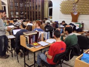 לימוד בישיבה שנת תשעה